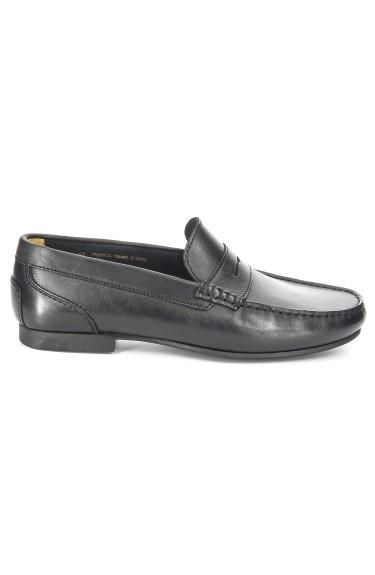 Trenton Penny  Black leather