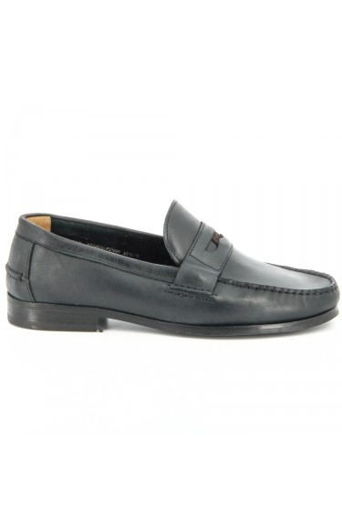 Conrad Penny  Black Leather
