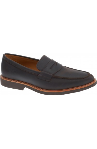BARCINO  BROWN PULL UP LEATHER