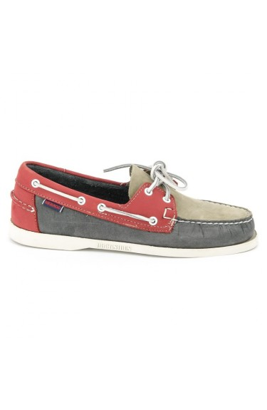 Docksides  Smoke/Grey/Red