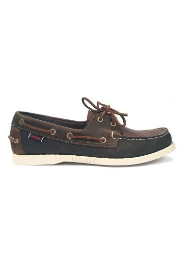 Docksides Portland Spinnaker Waxed Men  Brown/Navy/Grey