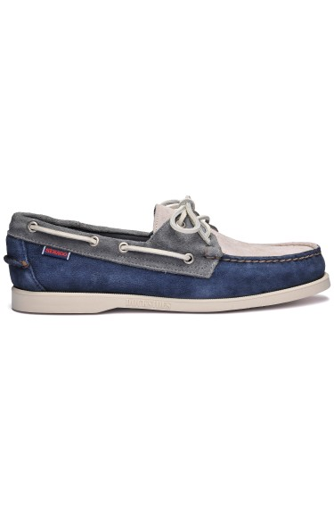 Docksides Portland Jib Men  Navy/Dark Grey/Mid Grey