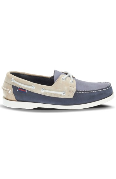 Docksides Portland Spinnaker Men  Nubuck Blue/Navy/Off White