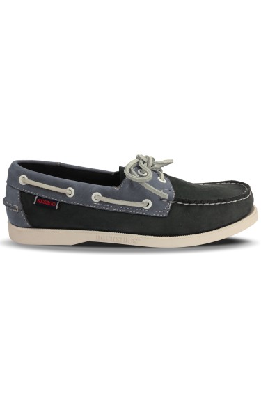 Docksides Portland Spinnaker Nubuck Men  Navy/Grey