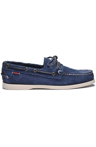 Docksides Portland Suede Men  Blue/Navy