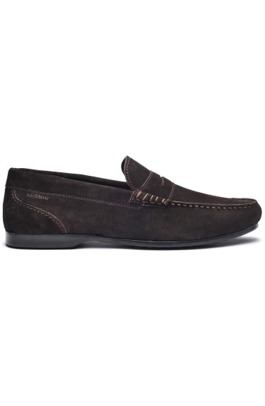 Byron Suede Men  Dark Brown
