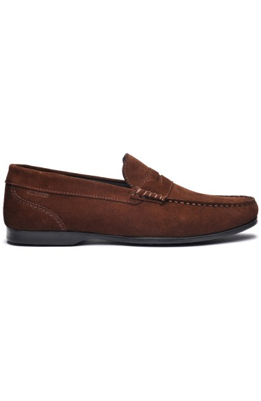 Byron Suede Men  Brown