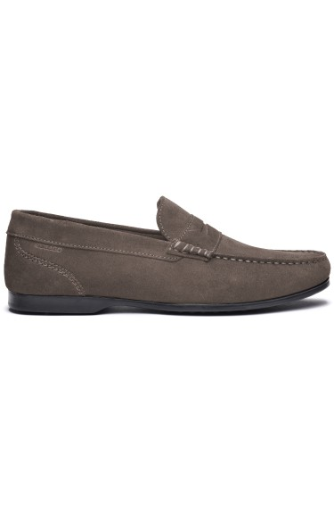 Byron Suede Men Almond