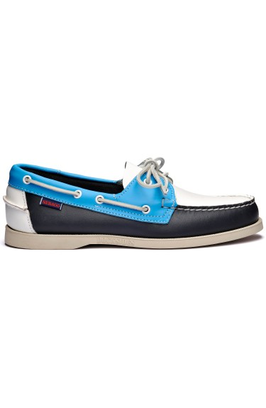 Docksides Portland Spinnaker  Navy/Light Blue/White