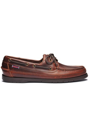 Docksides Schooner Men  Brown Gum