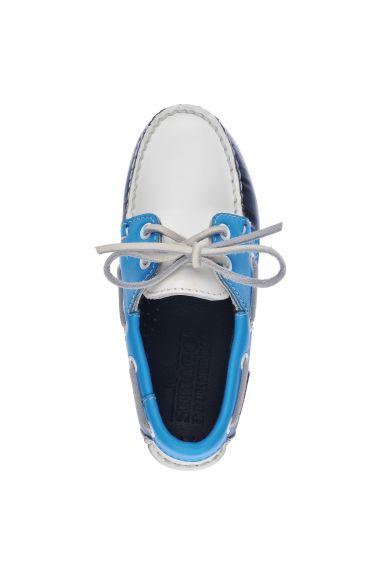 Docksides Portland Spinnaker Kids  Navy/Light Blue/White