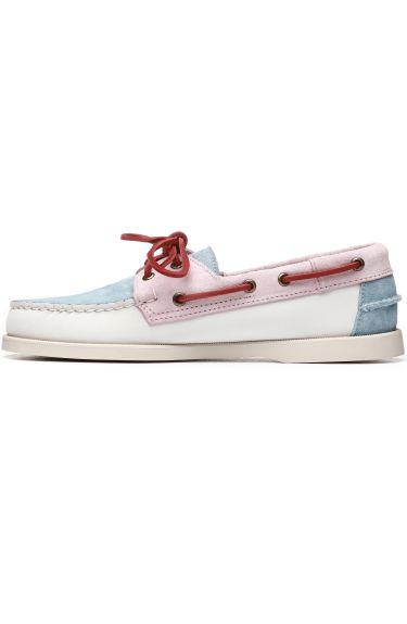 Docksides Portland Pastel  White/Baby Pink/Baby Blue