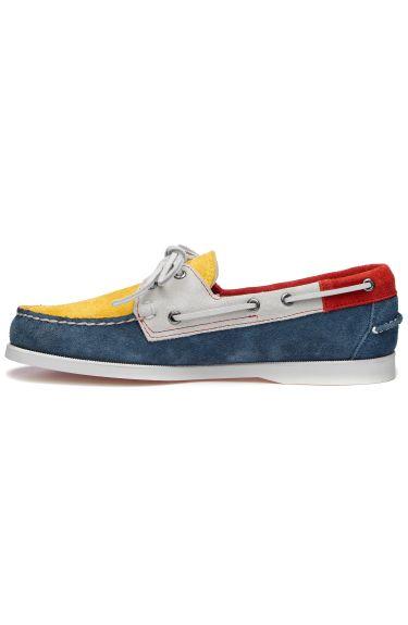 Docksides Jib Flags  Blue/Yellow/Red