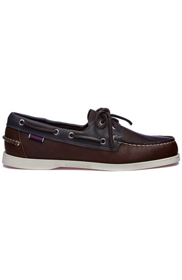 Docksides Mapple  Cognac/Blue Navy