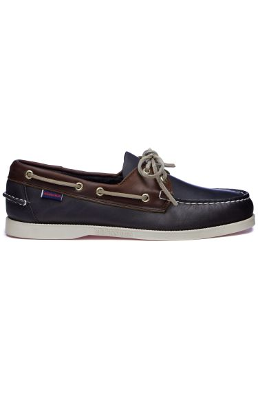 Docksides Mapple  Blue Navy/Cognac