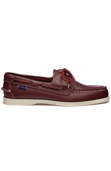 DOCKSIDES PORTLAND LEATHER Dark Red
