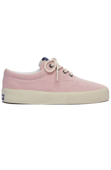 JOHN PAN CANVAS Pink-White