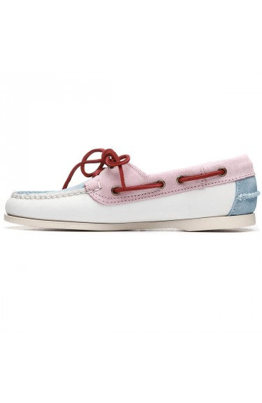 JACQUELINE PASTEL  White/Baby Blue/Baby Pink