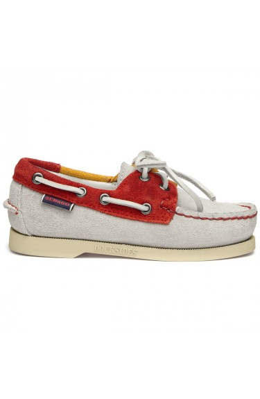 DOCKSIDES JIB FLAGS  OFFWHITE-RED-YELLOW