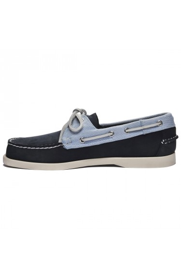 Docksides Portland Nubuck  Pan Navy/Light Blue/White