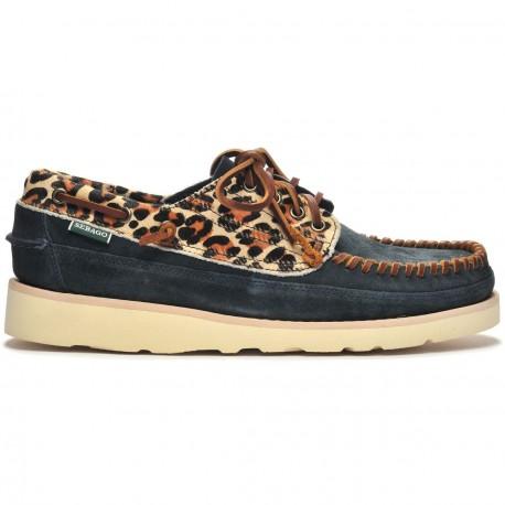 KEUKA WILD BlueNavy-Leopard
