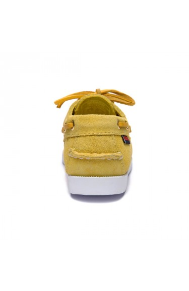 DOCKSIDES PORTLAND SUEDE KIDS  Yellow Mimosa