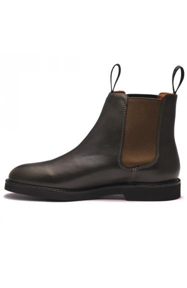 Chelsea Leather Polaris W  Dark Olive